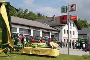 Landtechnik Fichtinger - Firmengelände